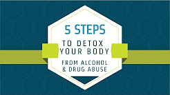 5 Steps To Detox Your Body From Alcohol and Drug Abuse Tutorial (2018)