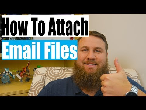 How to Attach a File in any Email
