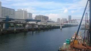 東京モノレール通過シーン