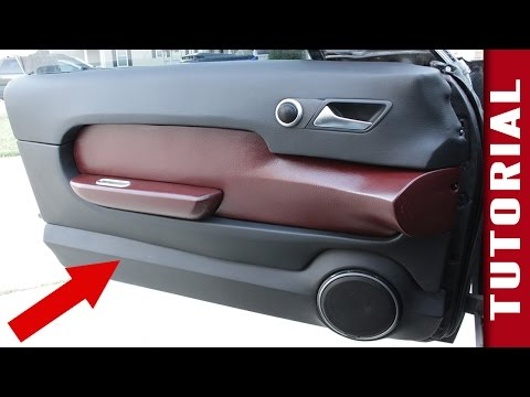 How to Make Custom Interior Car Panels