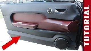 How to Make Custom Interior Car Panels