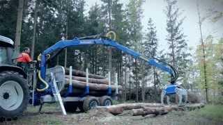"Binderberger RW8 ""alpine"" - Wendig & Flexibel / Timber Trailer ""Alpine"""