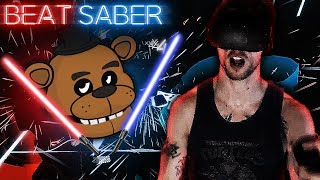 FIVE NIGHTS AT FREDDY'S SONGS!? | Beat Saber Expert Gameplay!
