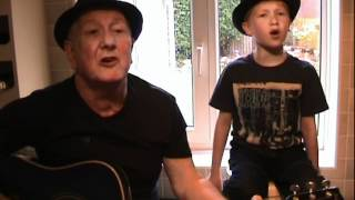 The Loco-motion - Little Eva/Kylie Minogue - acoustic cover by Matthew & Grandad