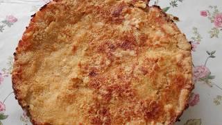 Сухой пирог с грушами