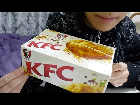 KFC Fried Chicken | HONG KONG | 후라이드 치킨 | ケンタッキー : ASMR / Mu