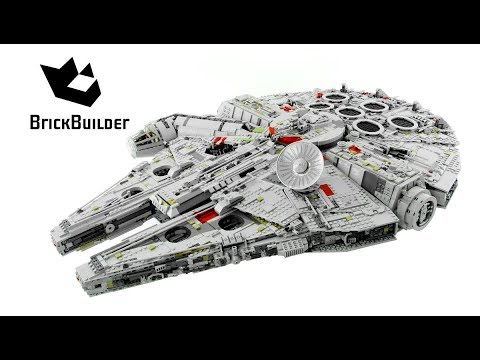 Lego Star Wars 75192 Millennium Falcon - Lego Speed Build - YouTube