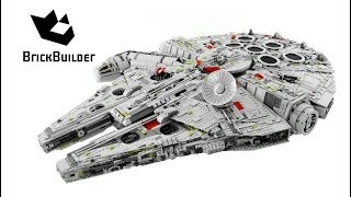 LEGO STAR WARS 75192 Millennium Falcon - Speed Build for Collecrors - Biggest Lego Set Ever