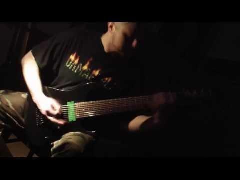 LOATHING Ibanez RG2228 8 String Guitar Promotion (Brutal Djent)