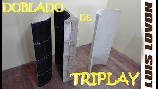 COMO DOBLAR TRIPLAY FACIL  (Trucos Secretos) - Luis Lovon