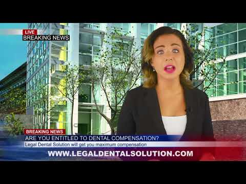 Dental negligence claims, how to sue dentist for compensation