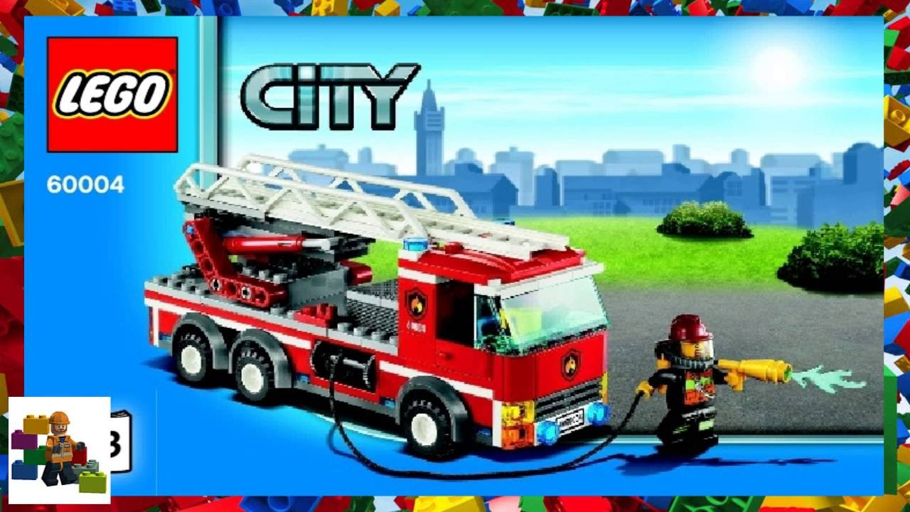 Lego Instructions City Fire 60004 Fire Station Book 3