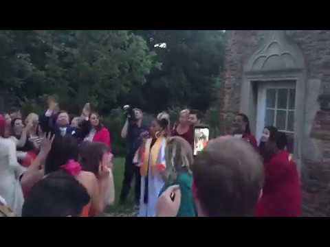Wedding goes OFF when the gospel choir sing Doo-Wop (That Thing).