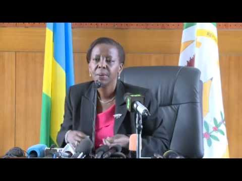 Press Conference with Rwanda's Minister of Foreign Affairs Louise Mushikiwabo