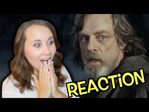Rachel Reacts to Star Wars: The Last Jedi Trailer || Adorkable Rachel