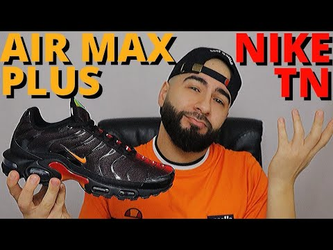 THE BAD BOY OF AIR! Nike AIR MAX PLUS TN BLACK MAGMA ORANGE On Foot Review