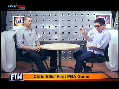 FTW: Chris Ellis First PBA Game