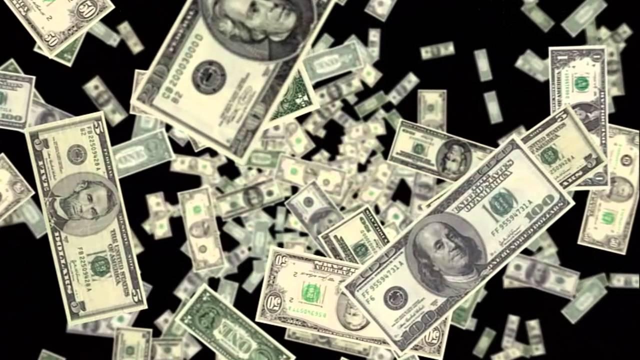 Money Falling Wallpaper Endless Rain Of Money Youtube