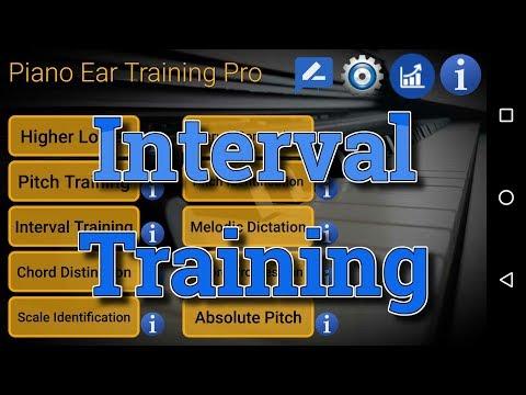 Interval Training - Piano Ear Training App