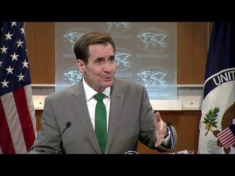 Daily Press Briefing - March 17, 2016