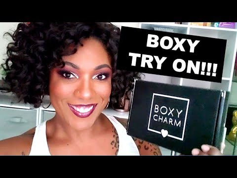BOXYCHARM OCTOBER 2019 Try On!!!  Is this stuff any good?? thumbnail