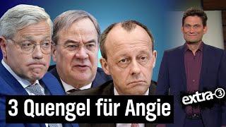 Merz, Laschet, Röttgen: Lahmer Kampf um CDU-Vorsitz