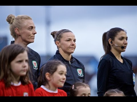 Wales Womens v Czech Republic: Loren Dykes 100 Caps