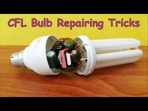 CFL Bulb Repair at Home