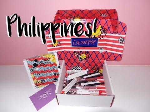 How to order Colourpop - PHILIPPINES