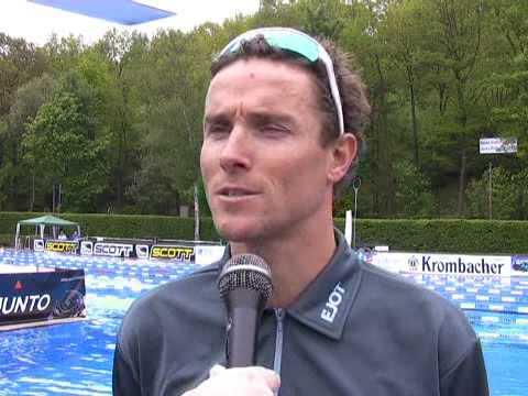 Interview Andreas Raelert - Ziel Ironman Frankfurt, Traum Hawaii