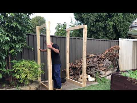 Building a DIY outdoor smokehouse, with The food alchemist