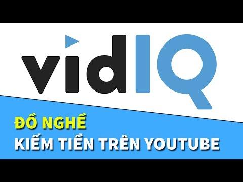 vidIQ | Đồ nghề Kiếm tiền trên YouTube