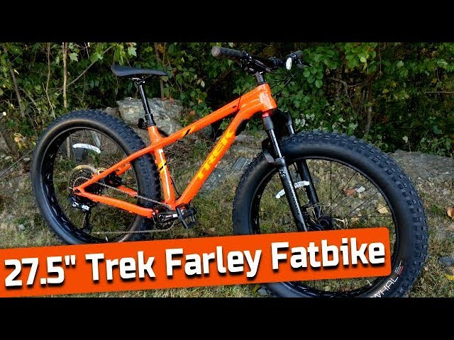 Suspended Fat Fun 2020 Trek Farley 7 Fatbike With Manitou Mastodon Feature Review And Weight Youtube