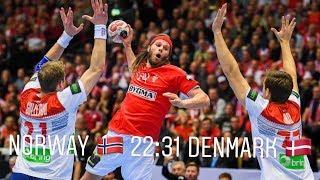 Highlights of the handball wm final between norway and denmark!!