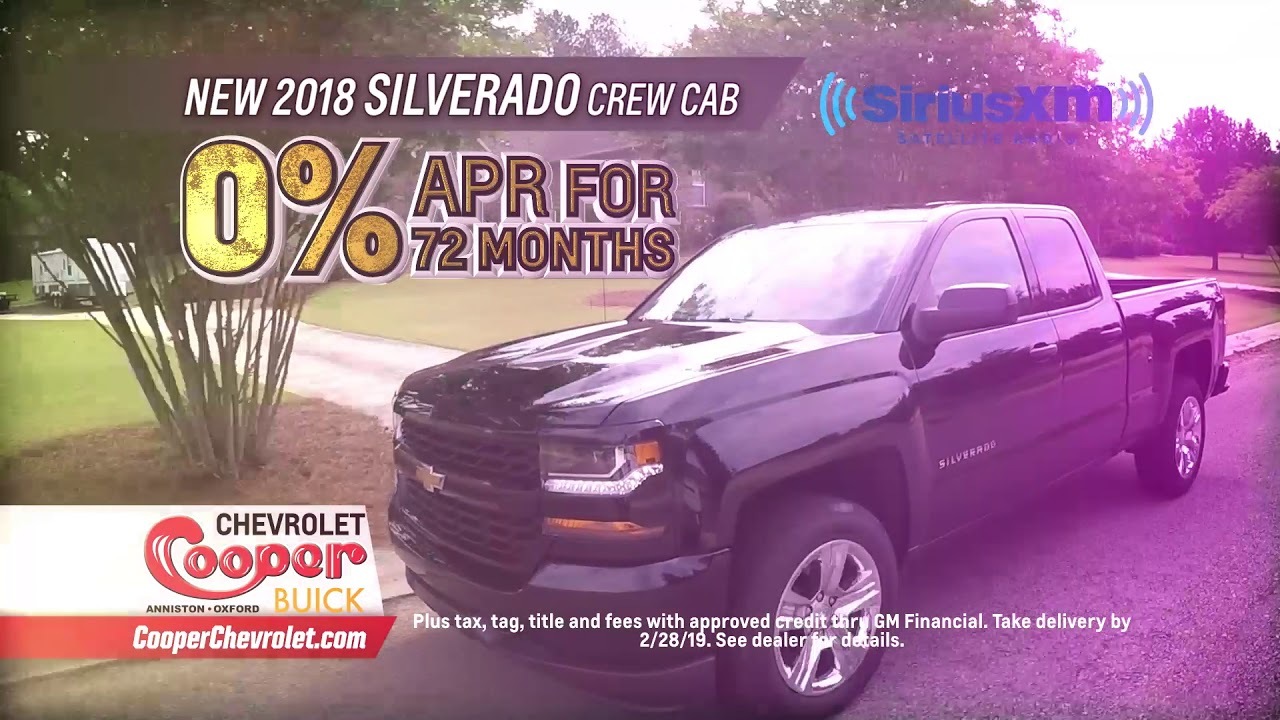 Slashing Chevys In February At Cooper Chevrolet Buick In Anniston Al Youtube