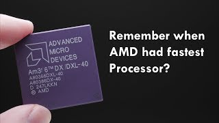 AMD 386DX-40 - When AMD had the fastest processor