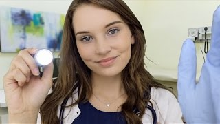 asmr doctor roleplay yearly exam