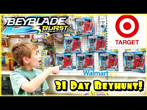 BEYHUNTING For 31 DAYS STRAIGHT! Part 3 - Beyblade Burst Toy Hunting  And GIVEAWAY / Hasbro Toys