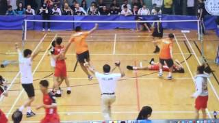 Đá cầu: giây phút nghẹt thở đưa Việt Nam vô địch 3 nam