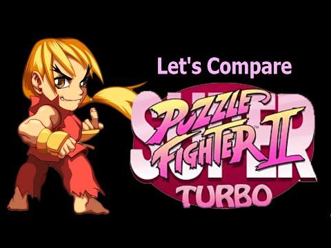 Let's Compare  ( Super Puzzle Fighter 2 Turbo )