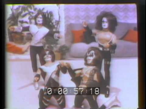 KISS vintage MEGO Doll television commercial from U-matic tape