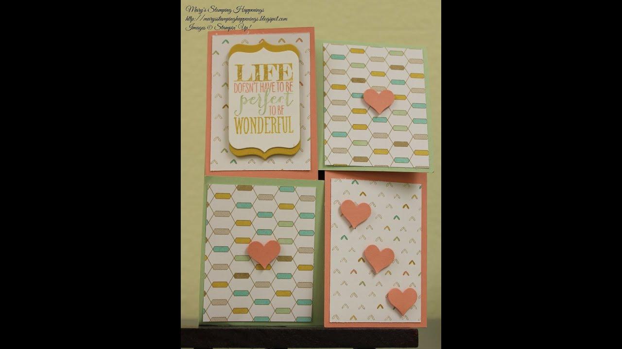 quarter fold card
