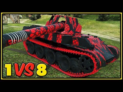 Rheinmetall Skorpion G – 11 Kills – 1 VS 8 – World of Tanks Gameplay