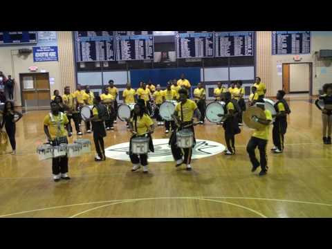 Bowie State's Marching Band and Drum Line 2016