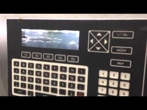 VIDEOJET EXCEL 100 INK JET INKJET CODER PRINTER MARKING MACHINE