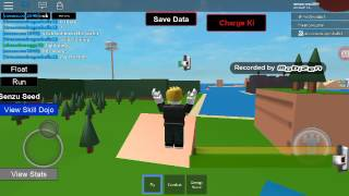 Roblox game play with son Gohan