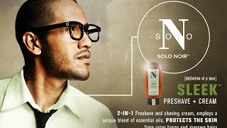 Solo Noir Shaving with Sleek