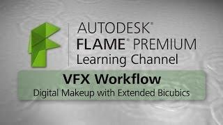 Digital Makeup with Extended Bicubics - Flame Premium 2015