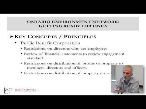 Part 1 of 3 - Getting ready for the Ontario Not-for-Profit Corporations Act ONCA