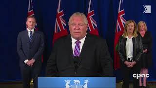 Ford talks mandatory masks; says the